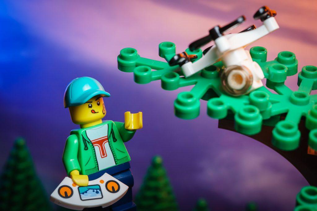 LEGO CMF SERIES 20 Drone Guy