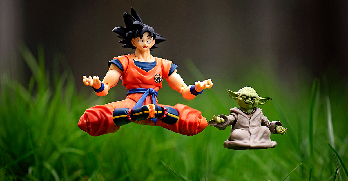 Training Sessions with Yoda and Goku
