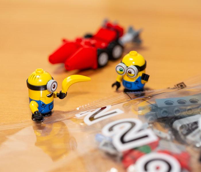 Lego Minion with Banana