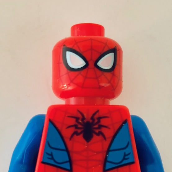 Spider-Man LEGO minifigure from the Marvel Spider-Man Mech set