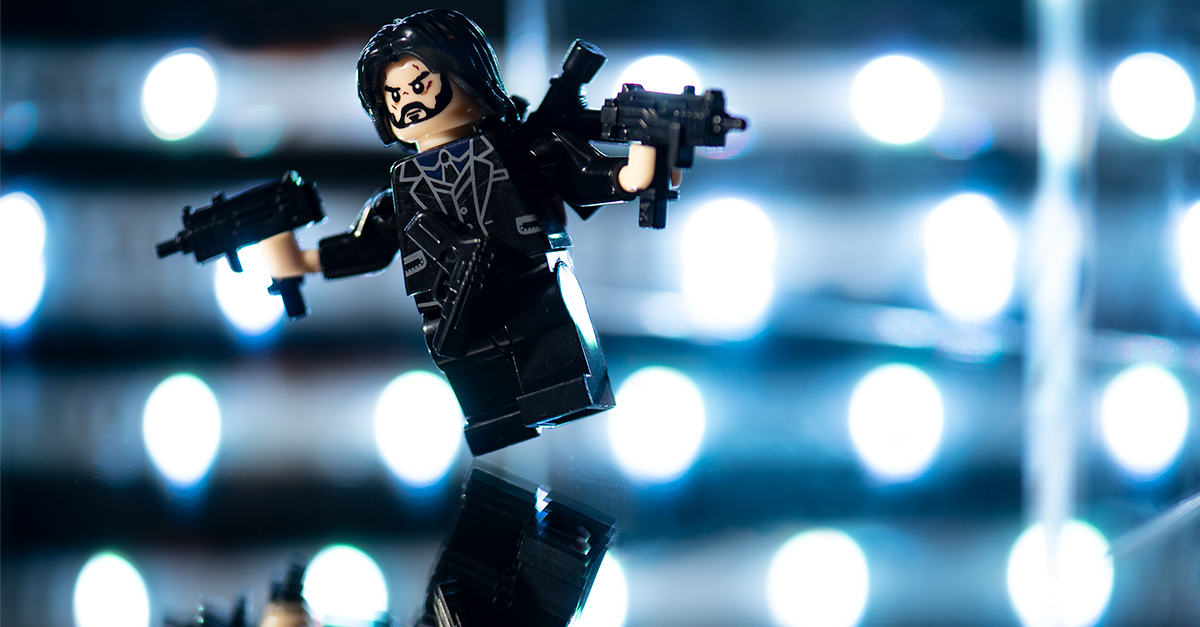 John Wick Loves Dogs: A Minifigure Toy Photo Story