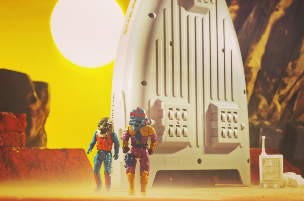 Irish Arts Council Funds Brian Hickey's Inspired Sci-Fi Toy Photos