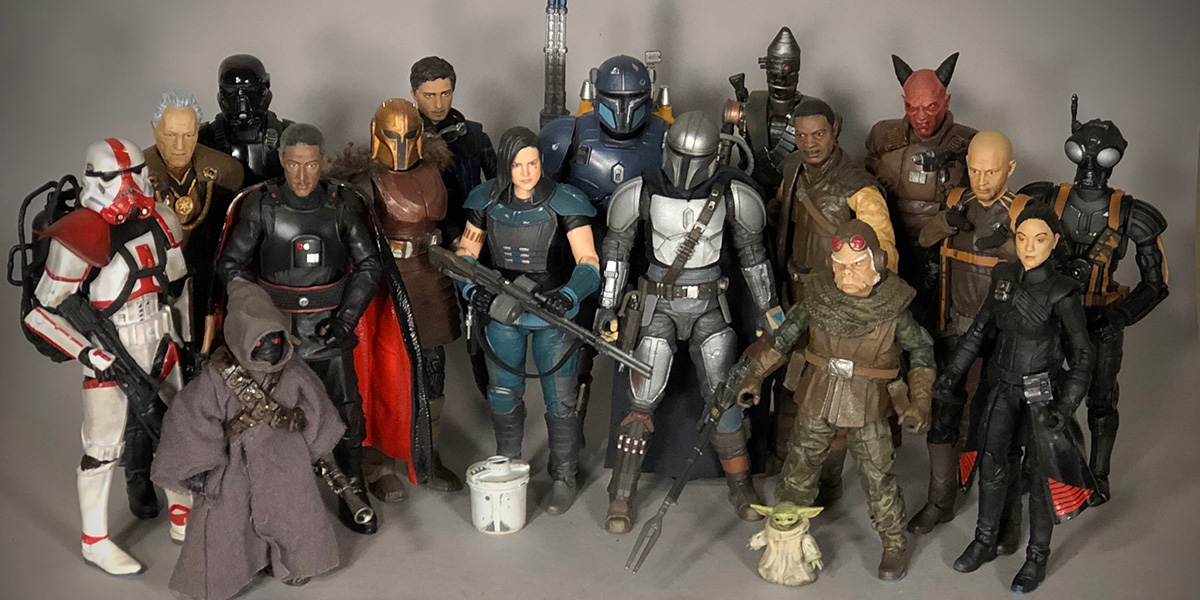 Customizing 6-Inch Action Figures with Jon Black (@12parsecscustoms)