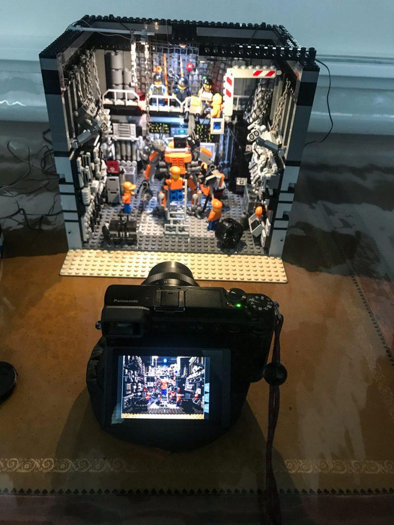 Behind the scenes Lego photo