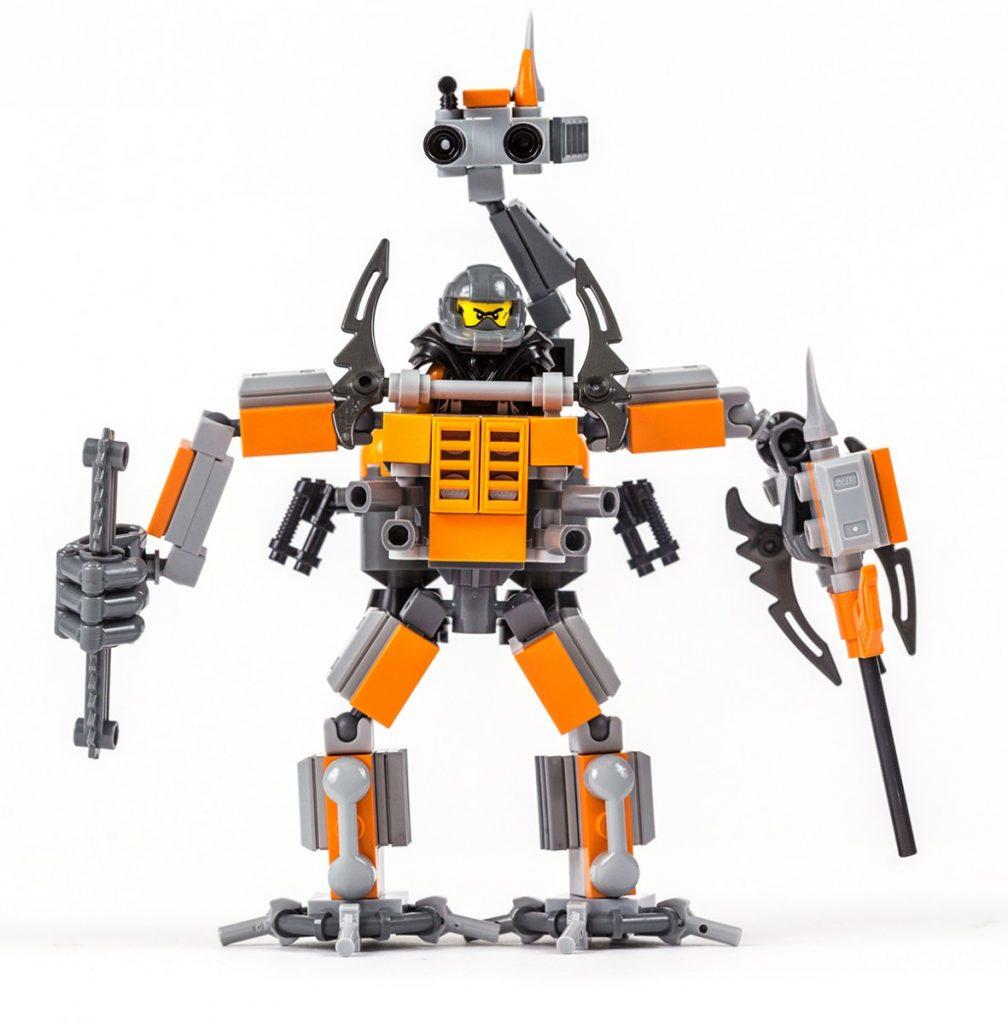 LEGO MOC exosuit