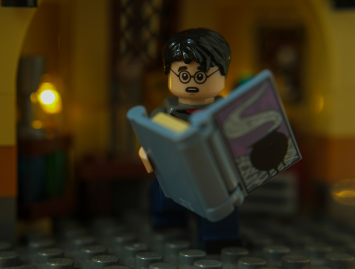 Harry Potter with Book of Potions