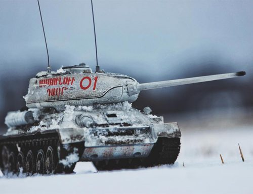 Max Sabin aka @fovmodels Finds Peace in War Toy Photography