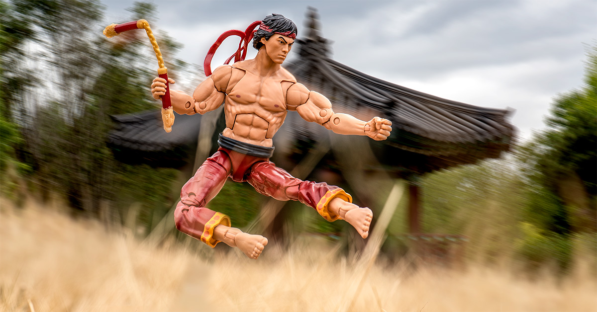Practicing Kung Fu with Marvel Legends Shang-Chi