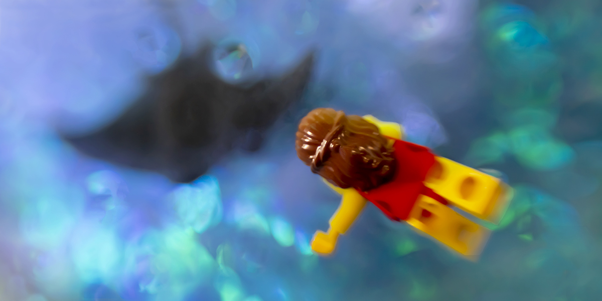 A Brief Trip to an Underwater LEGO World