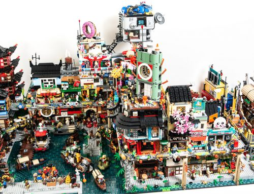 How to Photograph LEGO Cities