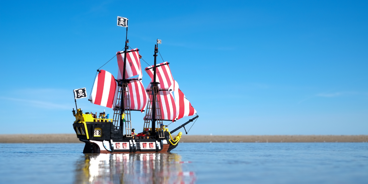 Arrr! LEGO Pirates of Barracuda Bay (21322) Toy Photography Review