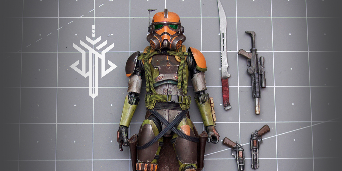 Meet DTG Figures: Toy Photographer Turned Action Figure Customizer