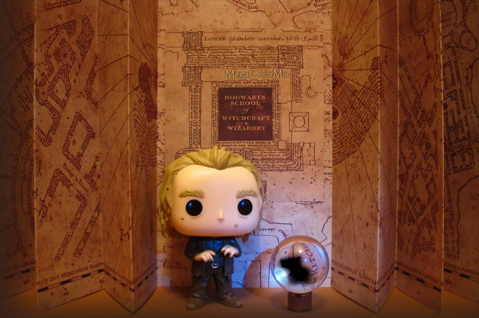 Peter Pettigrew and the magical Map