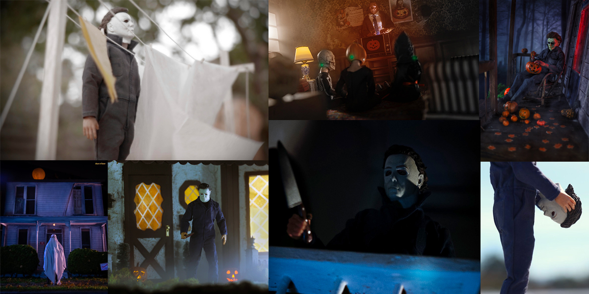 Toy Photographers Bring Michael Myers & 'Halloween' Film Series to Life