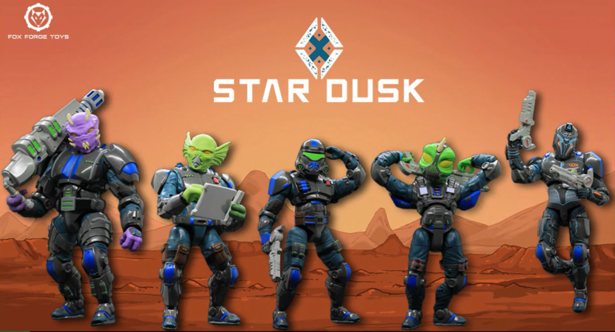 A Closer Look at the Star Dusk Kickstarter from Fox Forge Toys