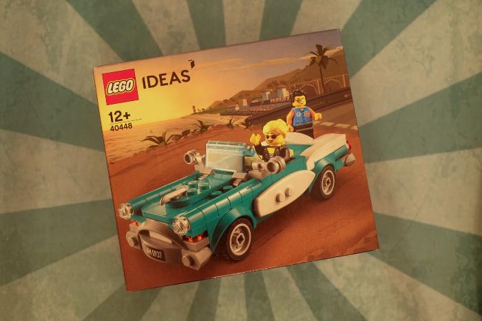 box of LEGO 40448 set