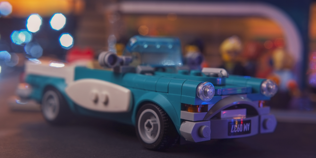 Vintage Vantage! A LEGO Ideas 40448 Vintage Car Review