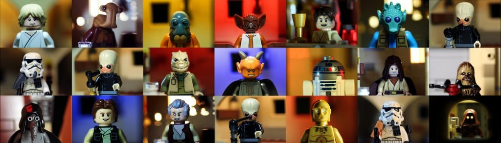 LEGO Mos Eisley Cantina 21 minifigures