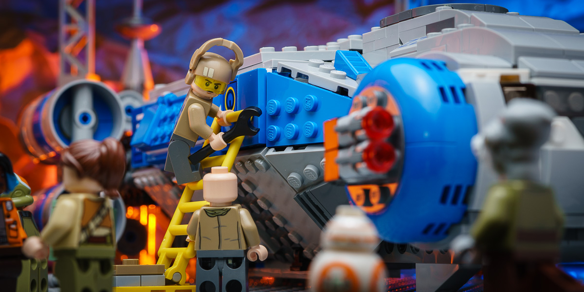 Rise of the LEGO Resistance: I-TS Transport (75293) Review