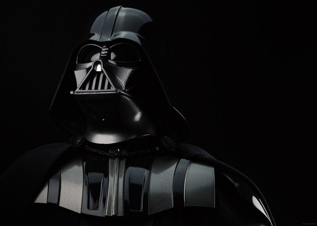 Darth Vader Hot Toys figure in honor of David Prowse