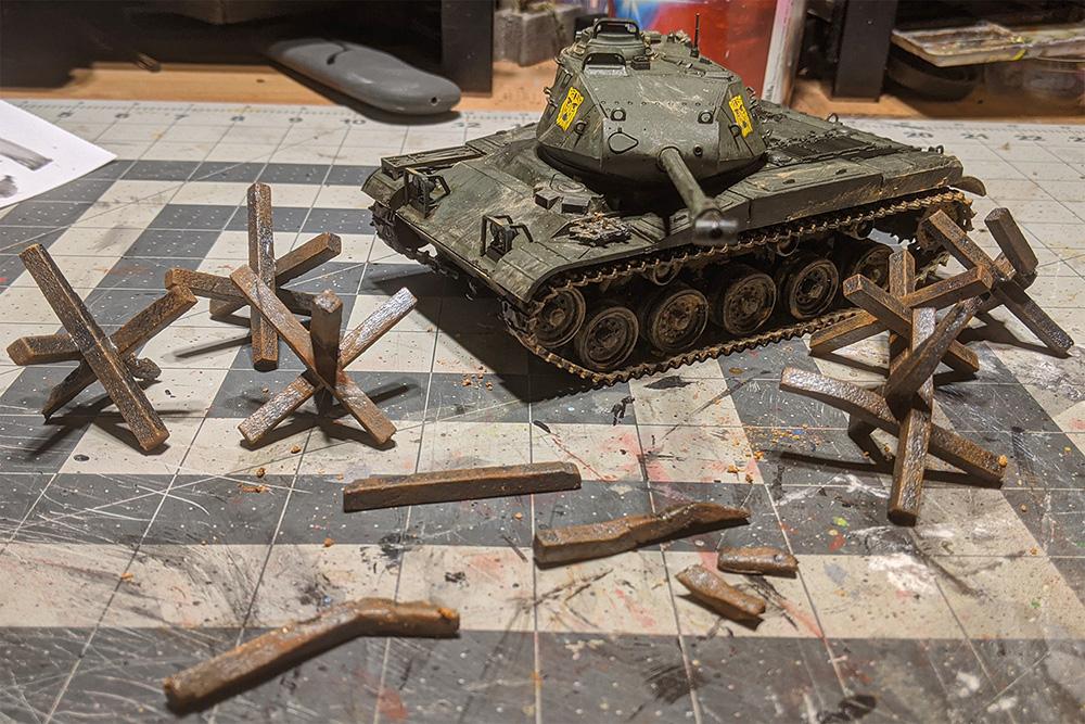 Walker British Bulldog tank