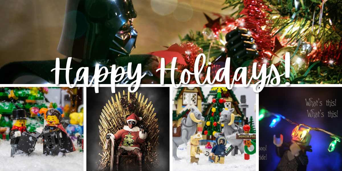 Toy Photography Holiday Cards – Free Download
