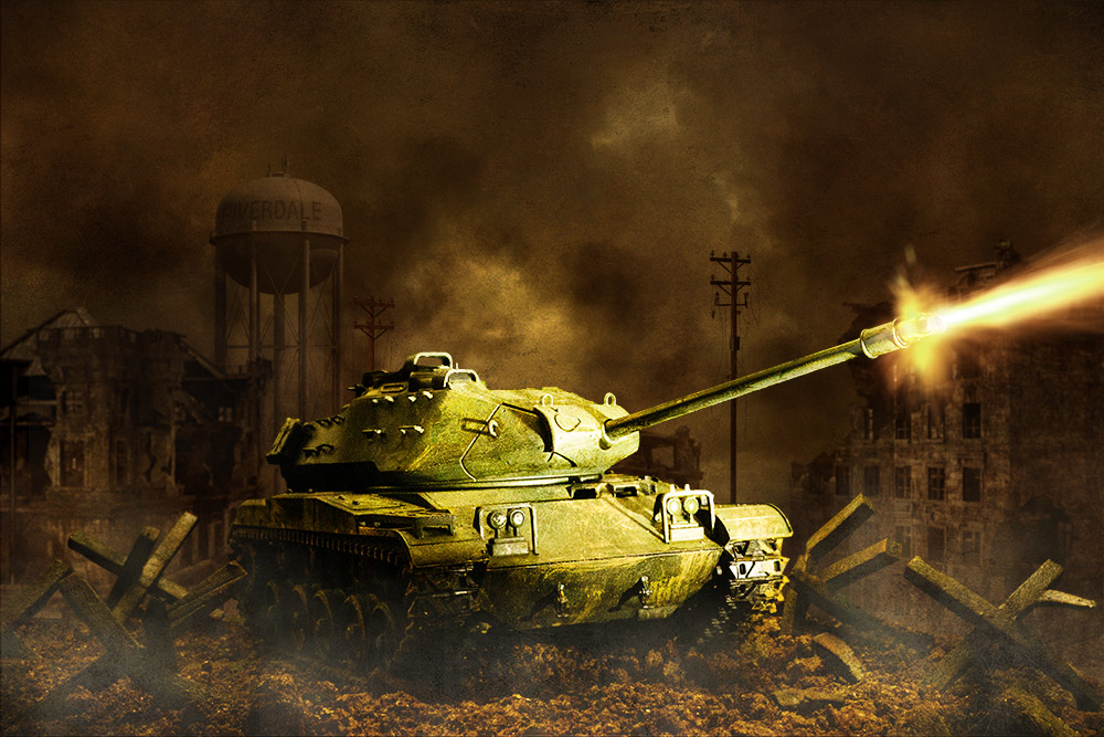 Behind the Scenes: Shooting a Model Tank at Night