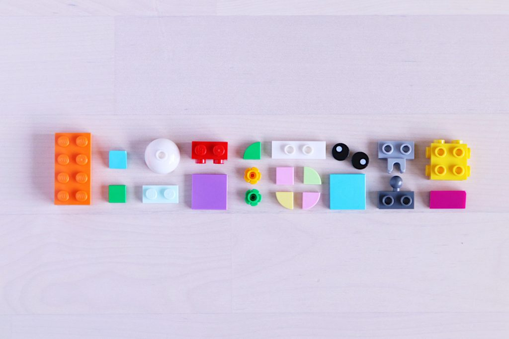 LEGO colorful bricks