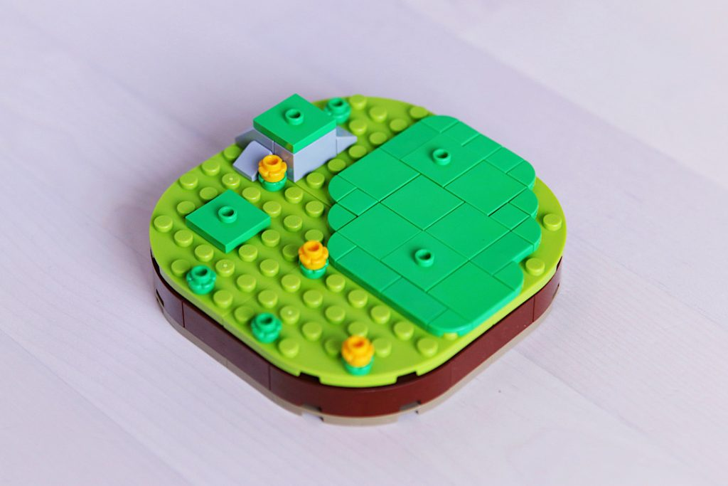 LEGO brick built meadow