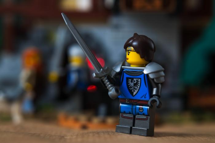 Lego blacksmith