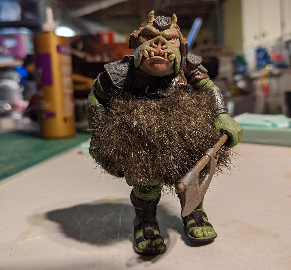 "Black Series 3.75"" Gamorrean Guard figure"