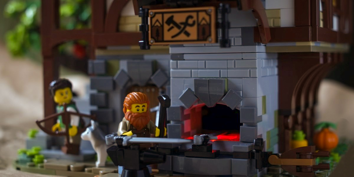 Forging Beauty: LEGO Ideas 21325 Medieval Blacksmith Set Review