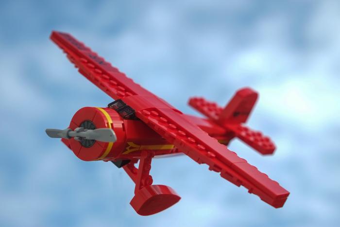 LEGO Lockheed Vega 5B model