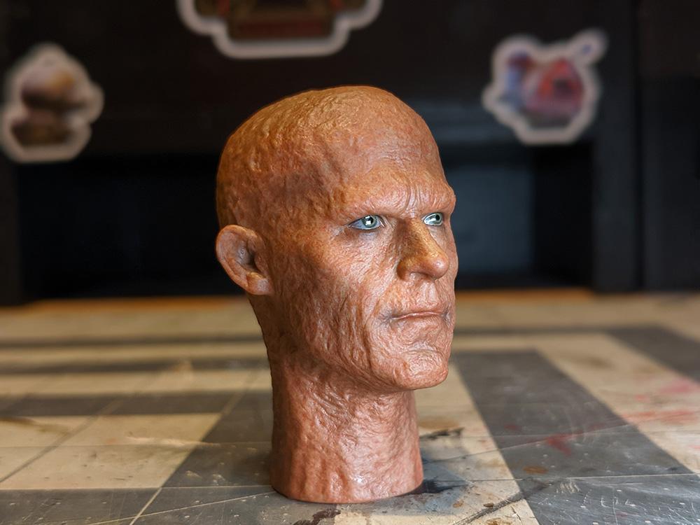 Wade Wilson custom head.