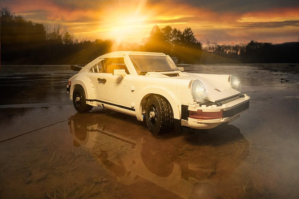 Porsche 911 on ice