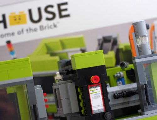 LEGO House Brick Moulding Machine 40502 Set Review