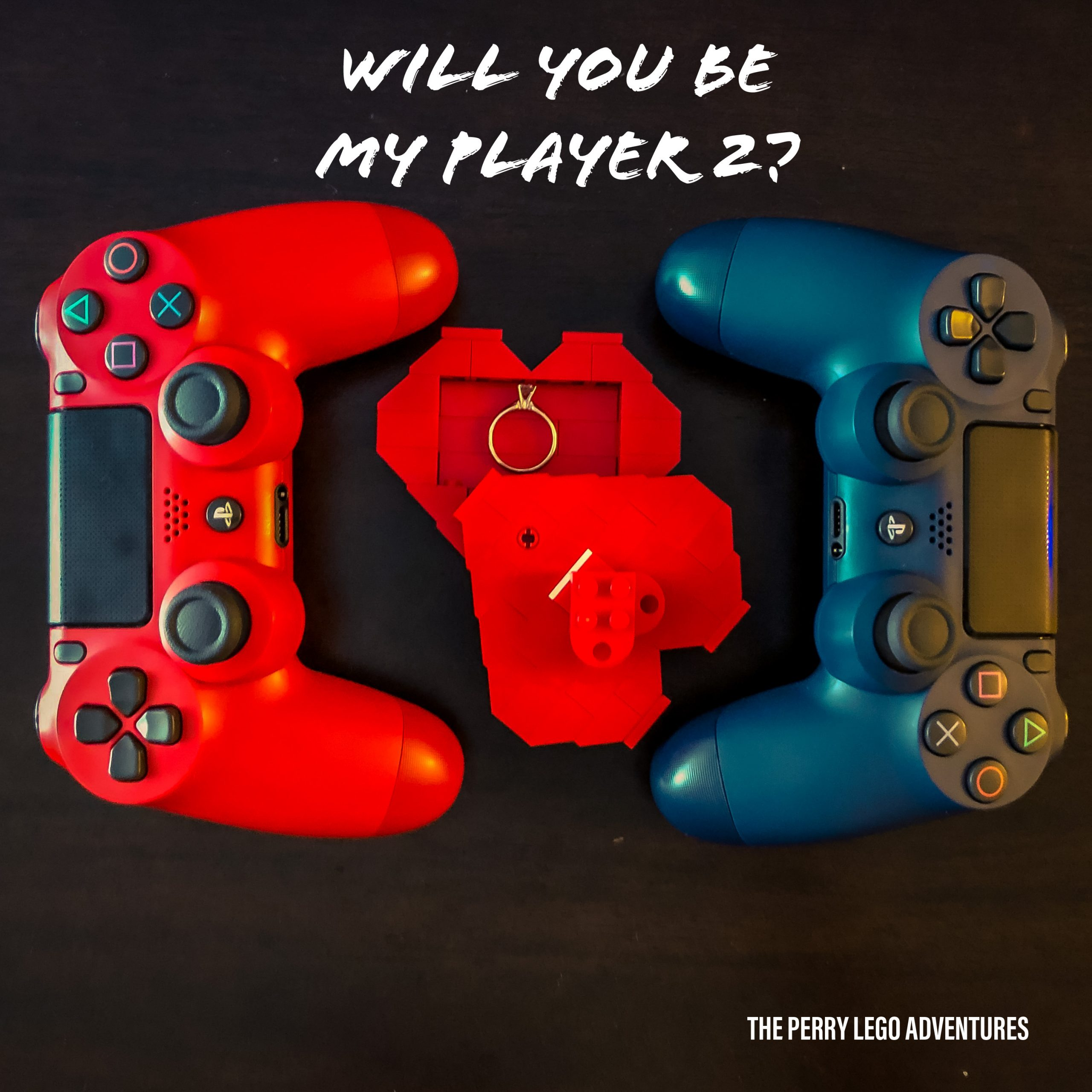 Will you be my player 2? The Perry Lego Adventures