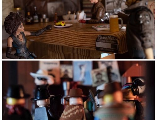 The Saloon: Two Toy Photographers Approach One Subject Differently