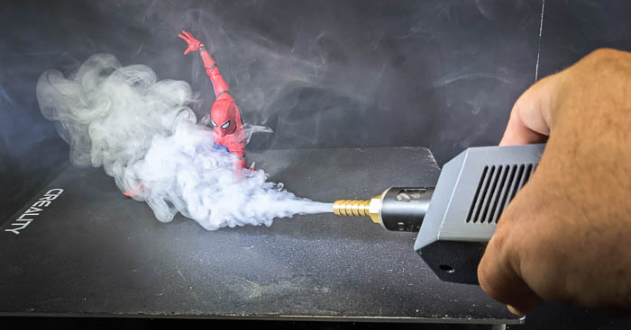 Microfogger with hose attachment