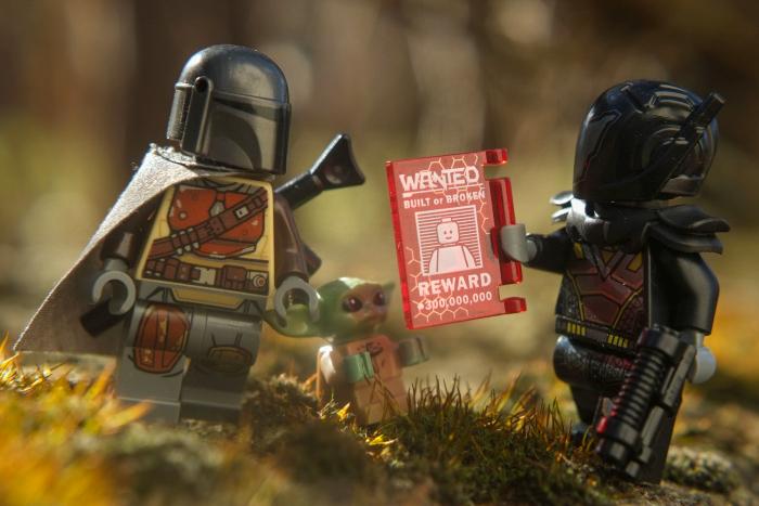 Lego bounty hunters minifigures