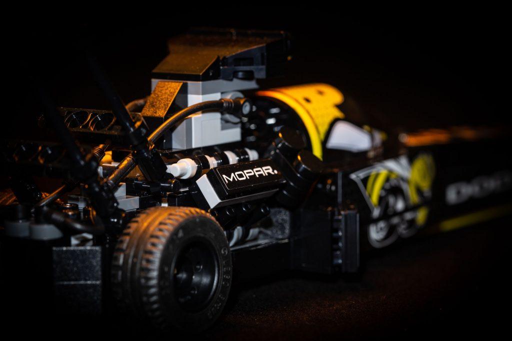 LEGO Speed Champions, 76904 Mopar Dodge//SRT Top Fuel Dragster