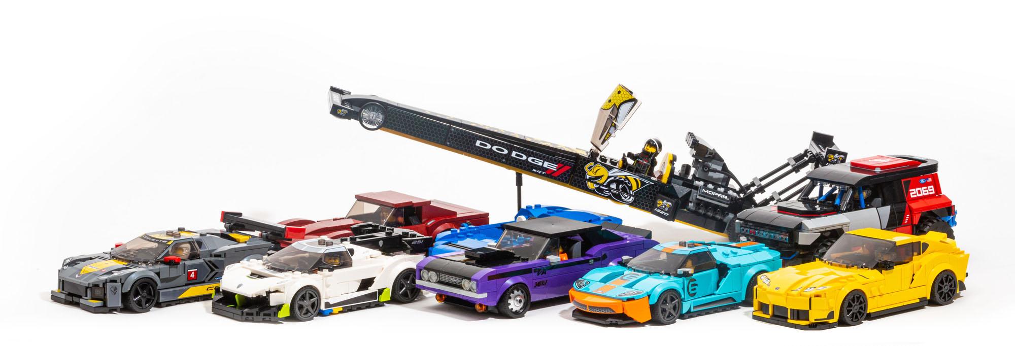LEGO 2021 Speed Champions