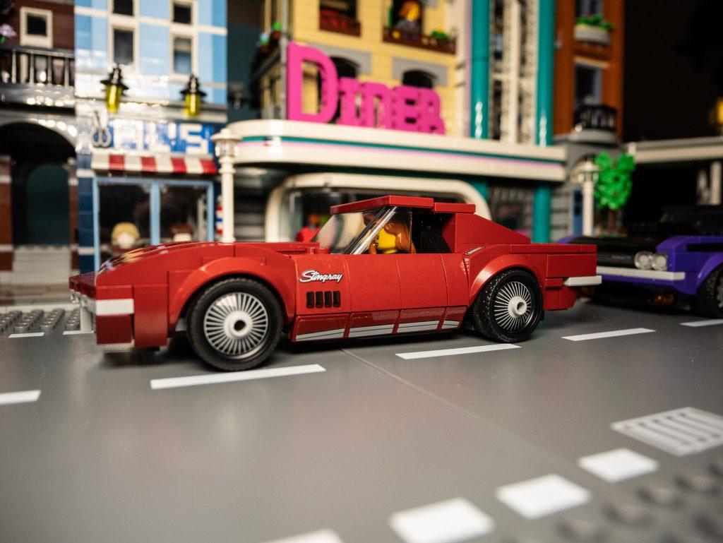 LEGO Speed Champions, 1968 Chevrolet Corvette C3, 76903