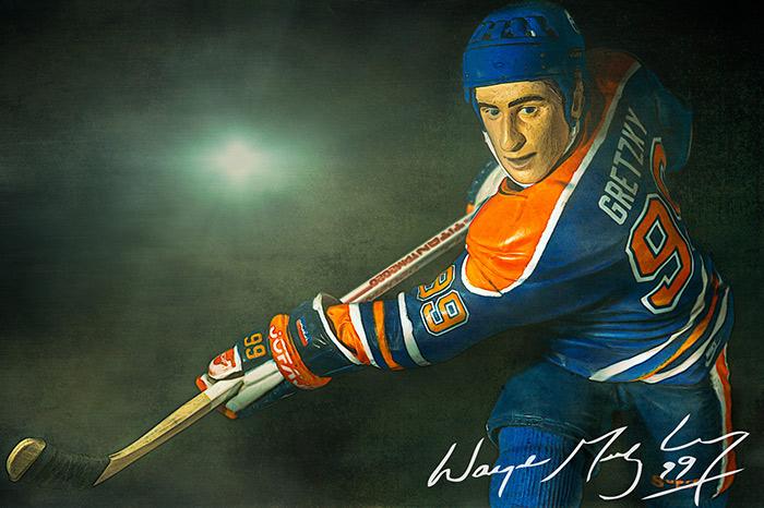 Wayne Gretzky. Number 99