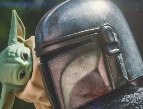 Toy Photographers Bring Grogu to Life for Star Wars Day 2021
