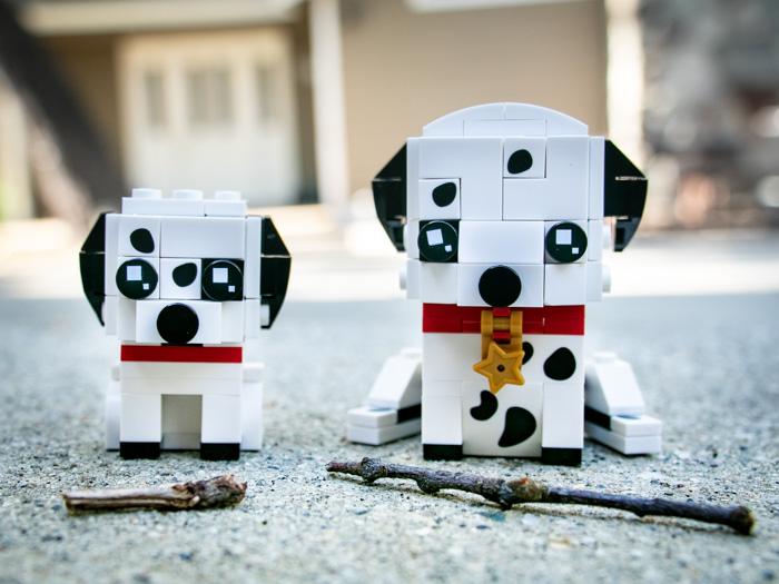 Toy photographer Teddi Deppner tackles the challenge of bringing the LEGO Brickheadz Pets Dalmatians to life on camera.