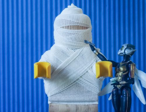 LEGO Wooden Minifigure Photography Review (Set #853967)