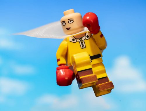 One-Punch Man Takes On Everyone: A Minifig Story