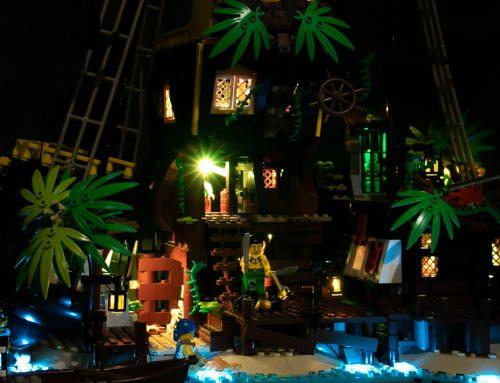 Briksmax LED Lighting Kit for LEGO #21322 Pirates of Barracuda Bay – Review