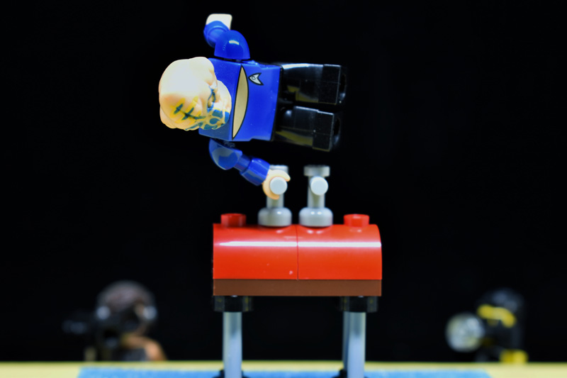 Toy Summer Olympics 2 6IN - day 10 - pommel horse - Tao Liao